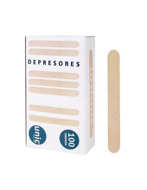 Depresor corporal 100 unidades
